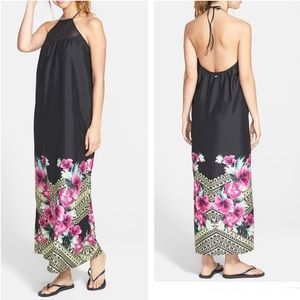 Rip Curl  Halter Neck Maxi Dress